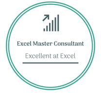 Excel Master Consultant logo to learn Excel online