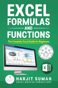 Book Cover: Excel Formulas and Functions: The Complete Excel Guide For Beginners